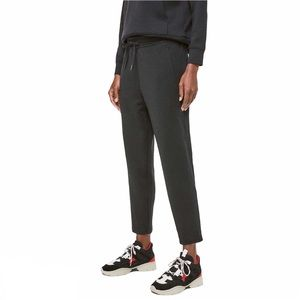 "Lululemon City Sleek Sweatpant 28"" Black Sz 10"